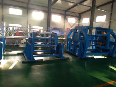 Slitting line for 3D core