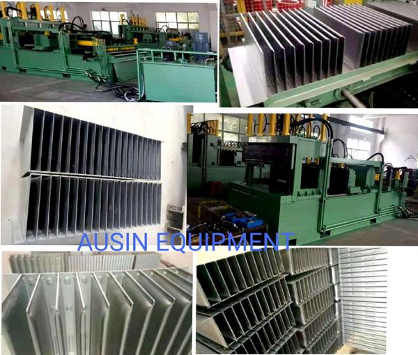 Corrugated Fin Forming Machine