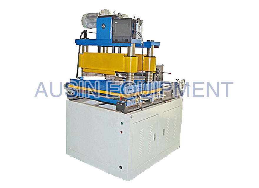 Center limb transformer core cutting machine