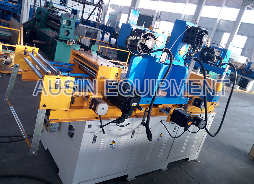 Mitred transformer core cutting machine