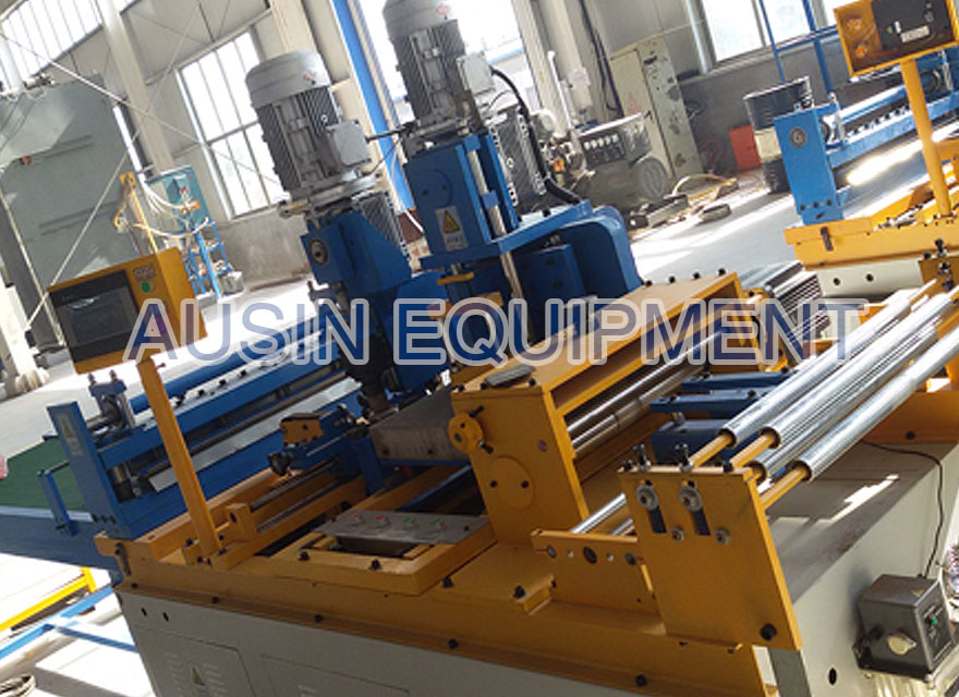 Swing shear V-Notch step lap transformer core cutting machine